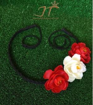 Аксесоар за коса от изкуствени цветя Deborah