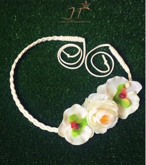 Аксесоар за коса от изкуствени цветя Pamela 2