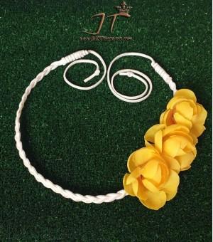 Аксесоар за коса от изкуствени цветя Josie