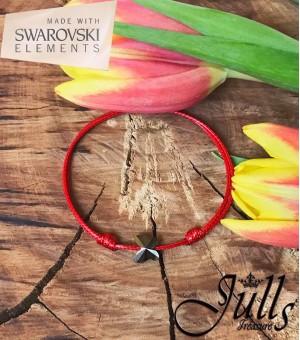 Дамска гривна SWAROVSKI Grey Butterfly