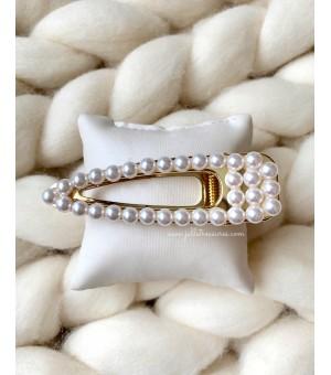Щипка с перлички