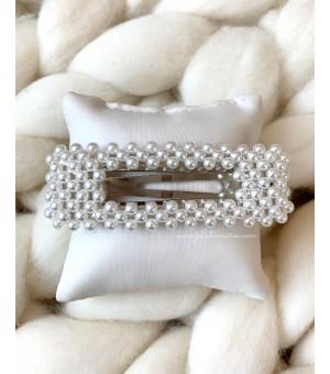 Правоъгълна шнола с малки перлички (Голяма)