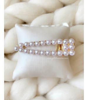 Щипка с перли 4